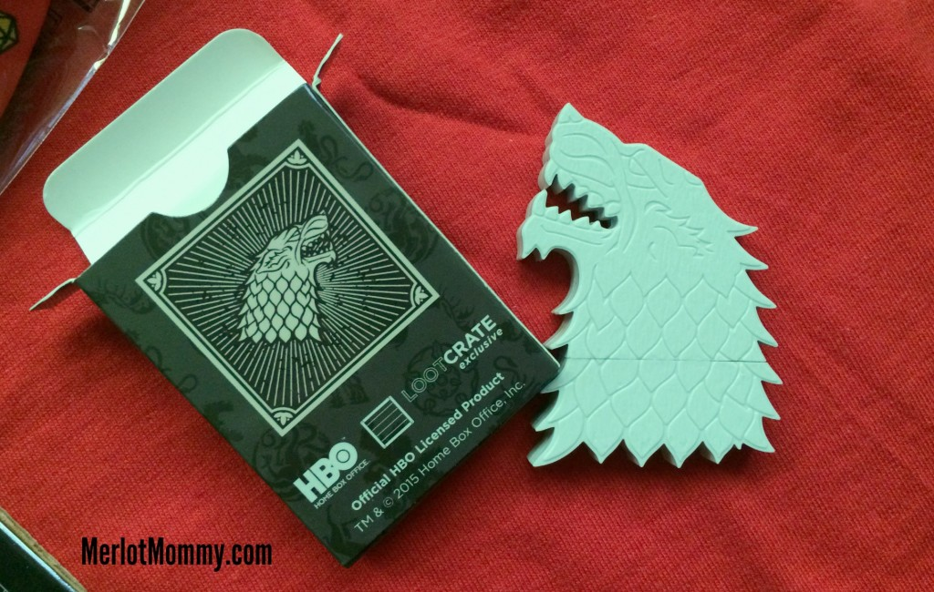 Game of Thrones featured in the April Loot Crate #GameofThrones