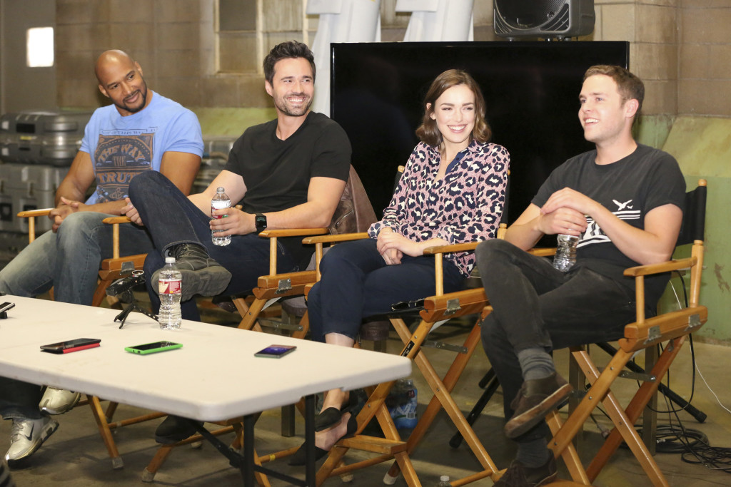 #AgentsofSHIELD Behind-the-Scenes Look and Cast Interviews #ABCTVEvent #AvengersEvent