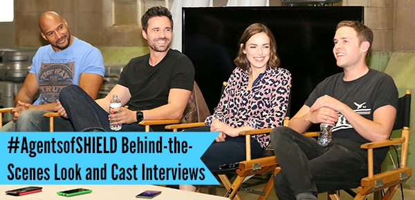 #AgentsofSHIELD Behind-the-Scenes Look and Cast Interviews
