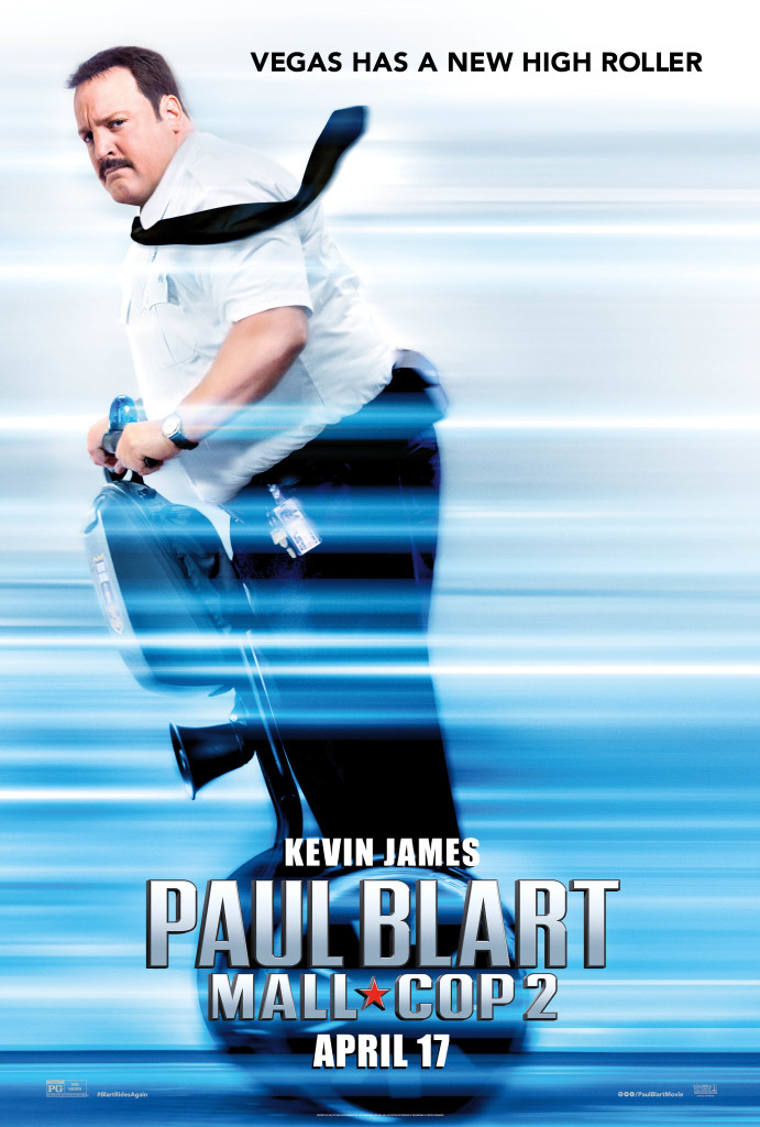 Paul Blart Mall Cop Giveaway ends 4/24