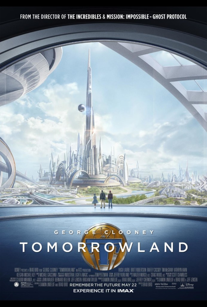 Disney's TOMORROWLAND New Trailer and IMAX Sneak Peek Announcement #Tomorrowland