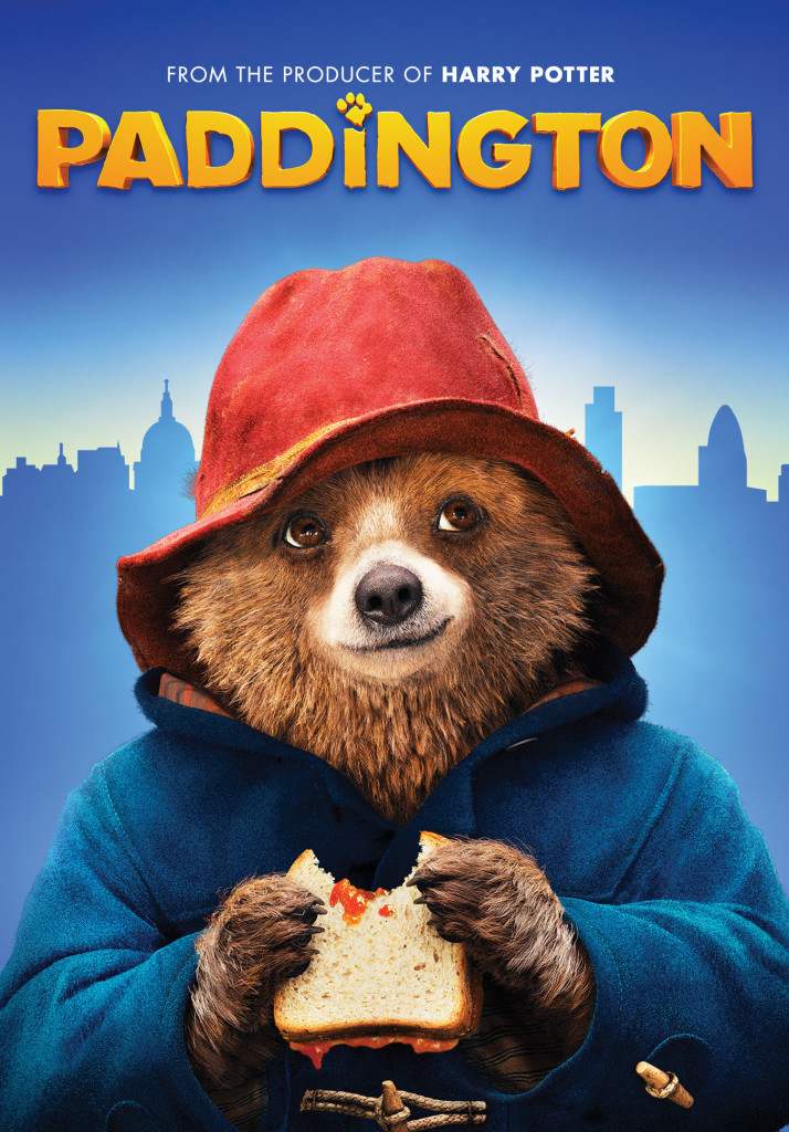 Paddington on DVD and Blu-ray Combo Pack 4/28 Plus Activity and Coloring Sheets