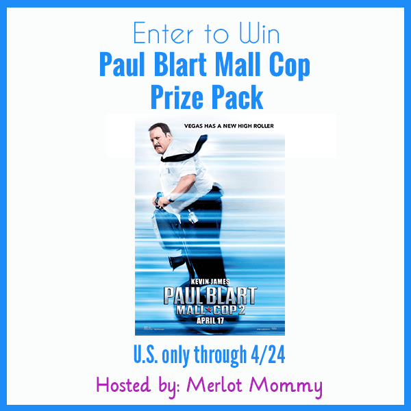 Enter to win a Paul Blart Mall Cop Prize Pack #Giveaway ends 4/24 #BlartRidesAgain