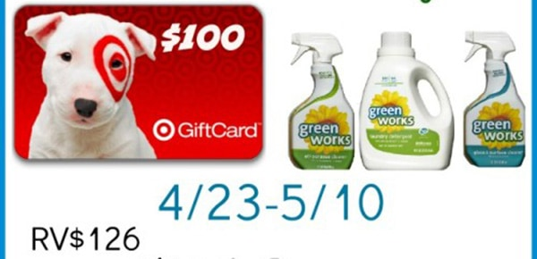 $100 Target Gift Card #Giveaway from Green Works ends 5/10