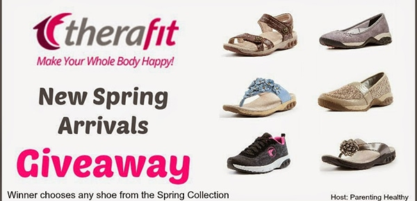 Therafit Spring New Arrivals #Giveaway ends 5/4