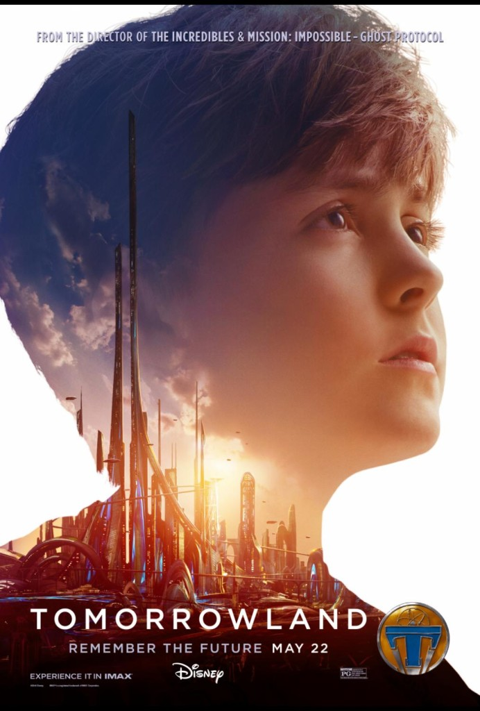 """TOMORROWLAND: """"Vision of Tomorrow"""" Featurette & New Character Posters #Tomorrowland"""