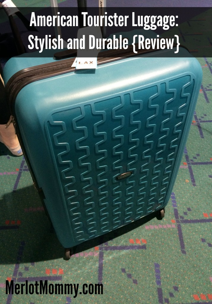 American Tourister Luggage is Stylish and Durable {Review}