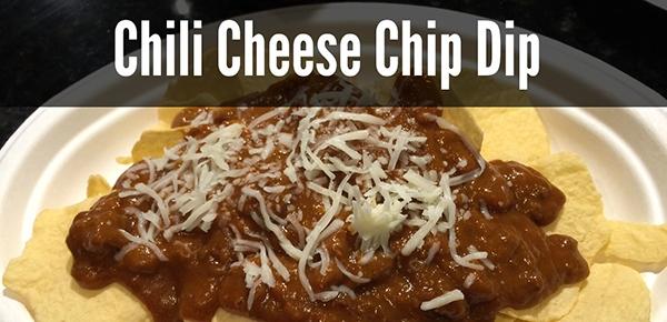 Hormel Chili Cheese Chip Dip #HormelChiliNation