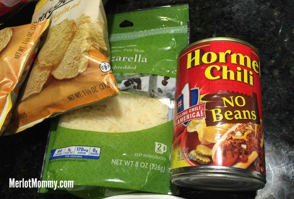 Hormel Chili Cheese Chip Dip #HormelChiliNation #sp