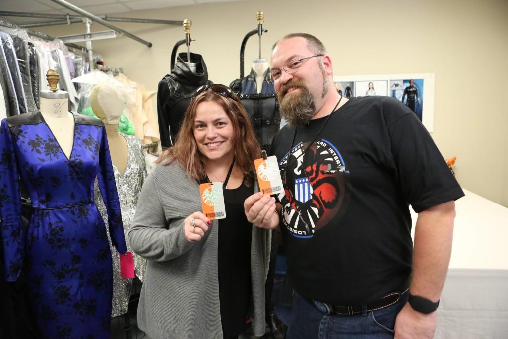 #AgentsofSHIELD Interviews with Chloe Bennet and Costume Designer Ann Foley #ABCTVEvent #AvengersEvent