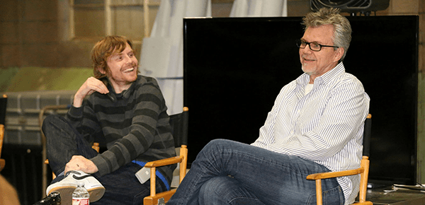 #AgentsofSHIELD Exclusive Interviews with Jed Whedon and Jeff Bell #ABCTVEvent #AvengersEvent