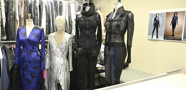 #AgentsofSHIELD Interviews with Chloe Bennet and Costume Designer Ann Foley