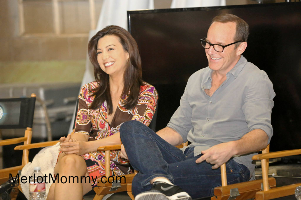 #AgentsofSHIELD Exclusive Interviews with Clark Gregg and Ming-Na Wen #ABCTVEvent #AvengersEvent