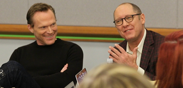 James Spader and Paul Bettany: Talking Ultron and Vision in Exclusive Interview #AvengersEvent