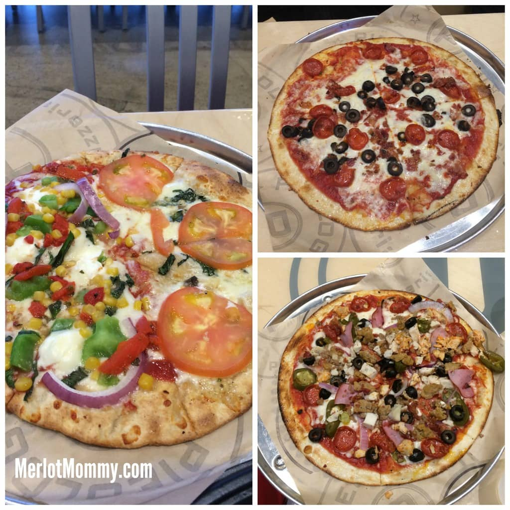 Kids Make Their Own Pizza Restaurant