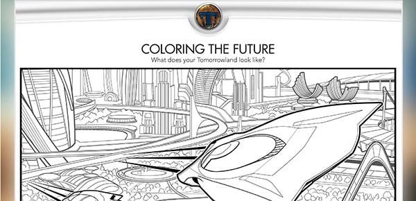 Free Activity and Coloring Sheets: Disney's TOMORROWLAND #Tomorrowland