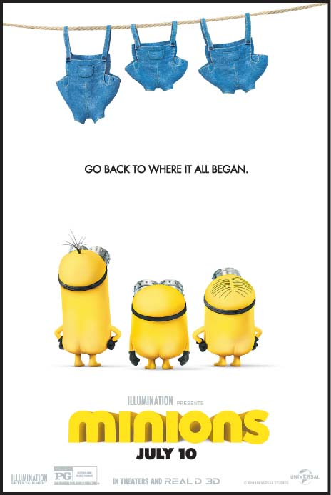 Enter to win a MINIONS Prize Pack #Giveaway #PDX