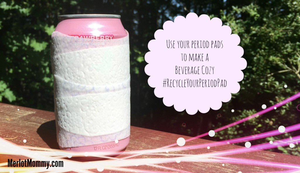 Recycle Your Period Pad with Poise Thin-Shape Pads for LBL #RecycleYourPeriodPad
