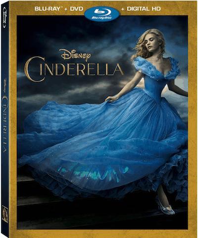 CINDERELLA on Blu-Ray and DVD 9/15