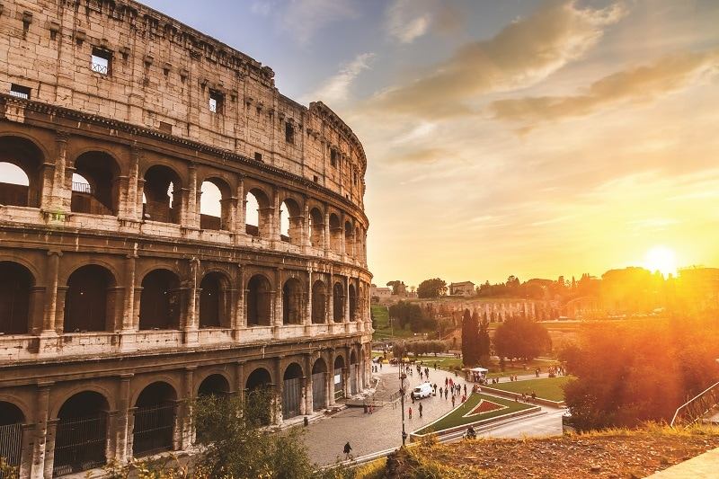 The Colosseum, Rome; Affordable Trips to Italy with Trafalgar