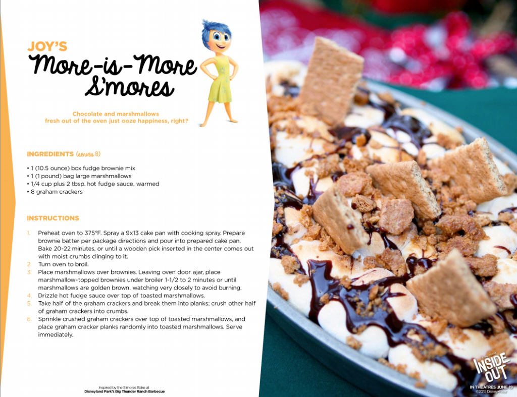 More-is-More S'mores Recipe #InsideOut