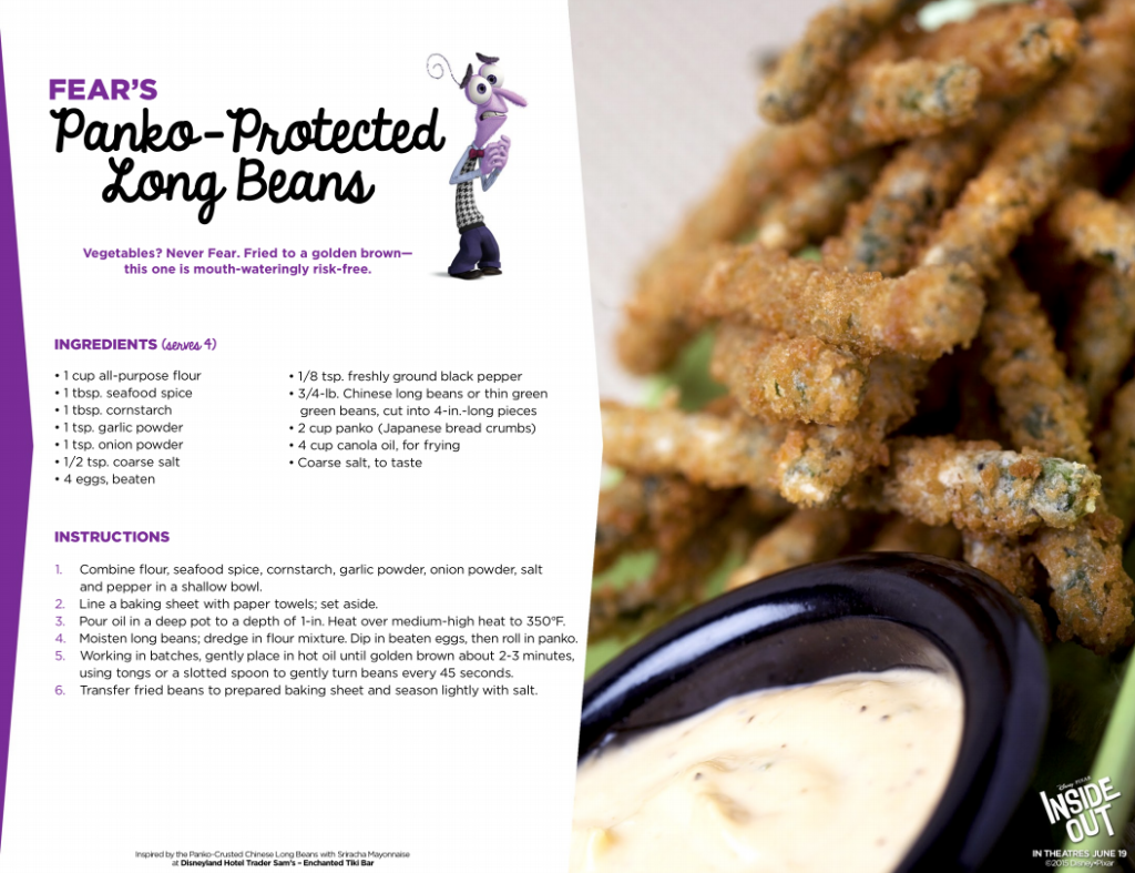 Panko-Protected Long Beans Recipe #InsideOut