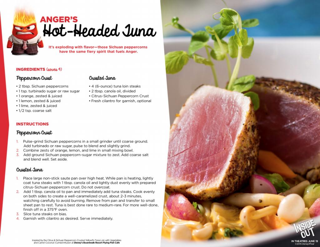 Hot-Headed Tuna Recipe #InsideOut