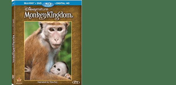 MONKEY KINGDOM on Blu-Ray and DVD 9/15