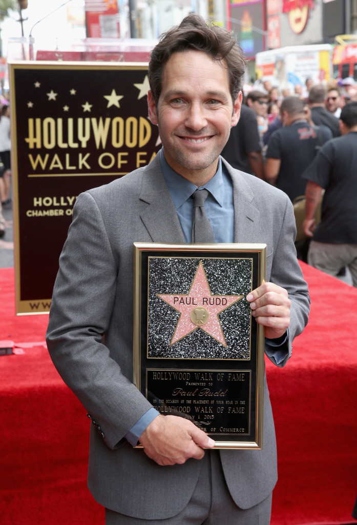 ANT-MAN's Paul Rudd Receives Star on the Hollywood Walk of Fame #AntManEvent
