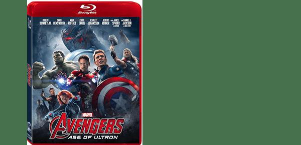 MARVEL'S AVENGERS: AGE OF ULTRON Arrives on DVD September 8