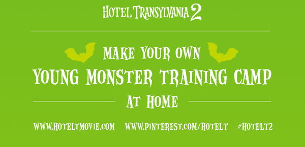 HOTEL TRANSYLVANIA 2 Young Monster Training Camp #HotelT2
