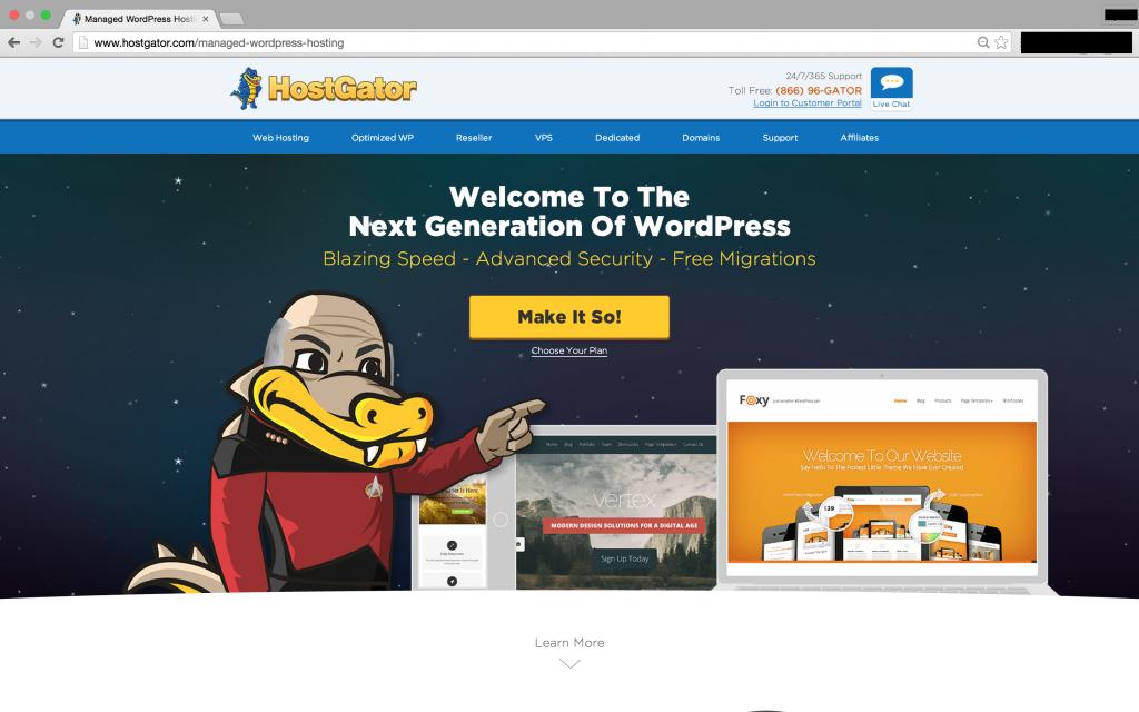 Let HostGator Make Your WebHosting Easy