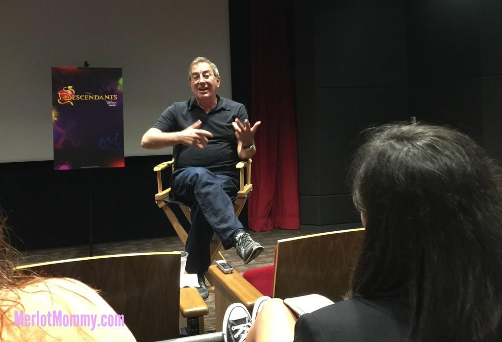 Exclusive Interview with Descendants Director Kenny Ortega #DescendantsEvent #AntManEvent