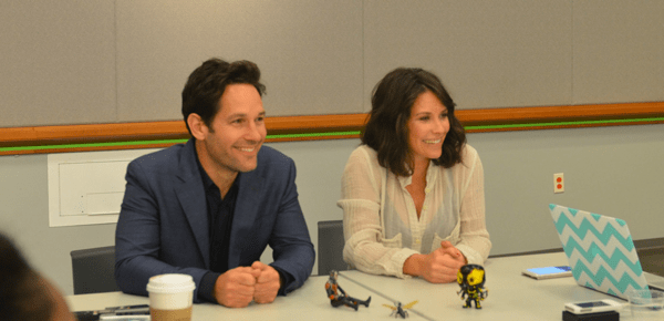 EXCLUSIVE: Paul Rudd and Evangeline Lilly Talk Ant-Man