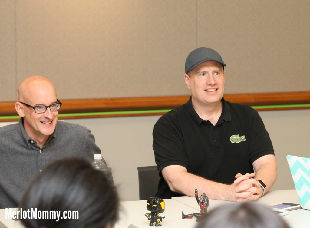 EXCLUSIVE Interview: Director Peyton Reed and Marvel Studio President Kevin Feige Talk Ant-Man [Wasp spoilers] #AntManEvent