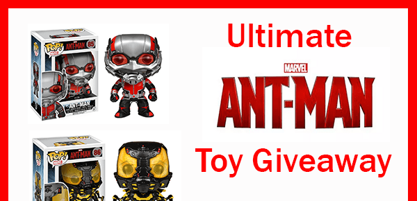Ultimate Marvel Ant-Man Toy #Giveaway ends 7/31