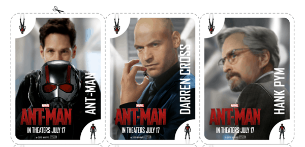 Marvel Ant-Man Activity Sheets, Coloring Pages, and Matching Game
