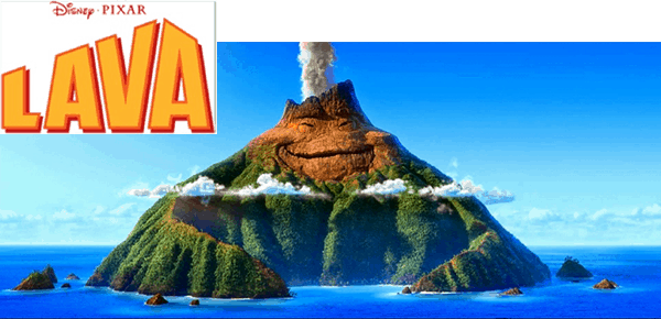 Disney Pixar's LAVA on Disney Movies Anywhere for a limited time