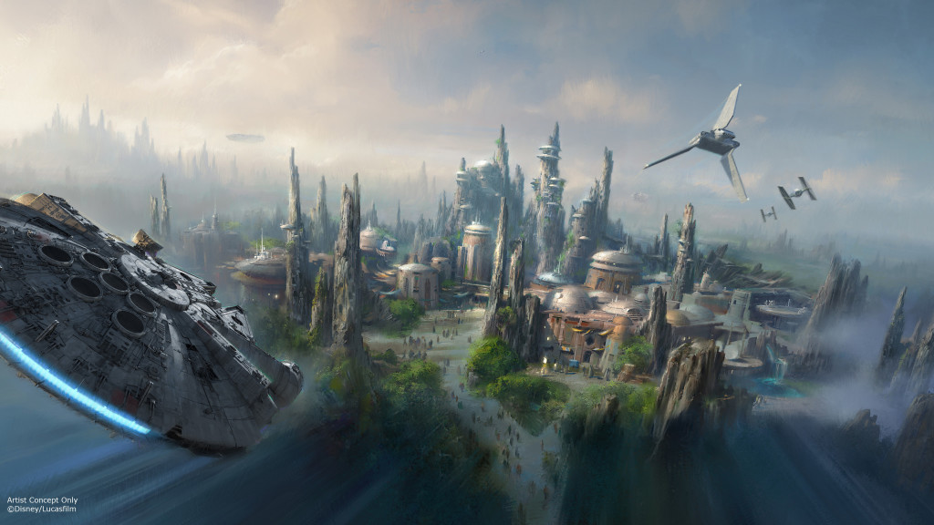 Star Wars-Themed Lands Coming to Walt Disney World and Disneyland Resorts Announced at #D23Expo #StarWars
