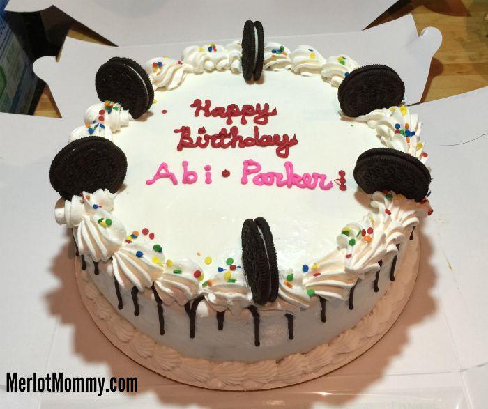 Baskin-Robbins OREO® Cream Delight Cookie Cake Is a Perfect Birthday Treat