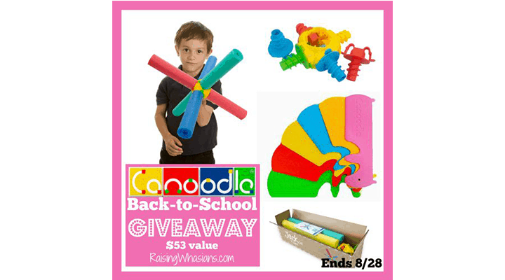 Canoodle Toy Back-to-School Prize Pack #Giveaway ends 8/28