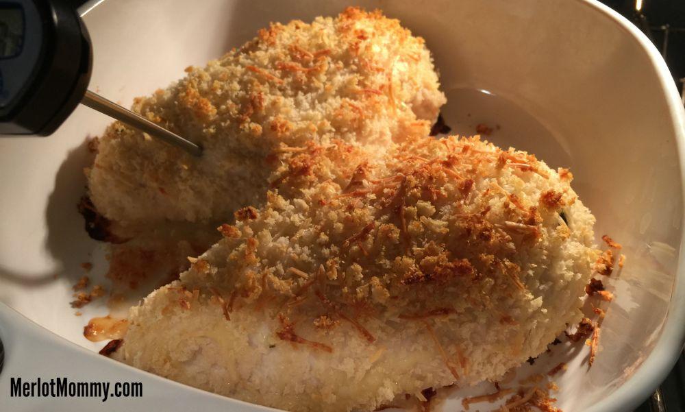 Panko Parmesan-Crusted Baked Chicken Breast Recipe #FavRanchFlav @HiddenValley