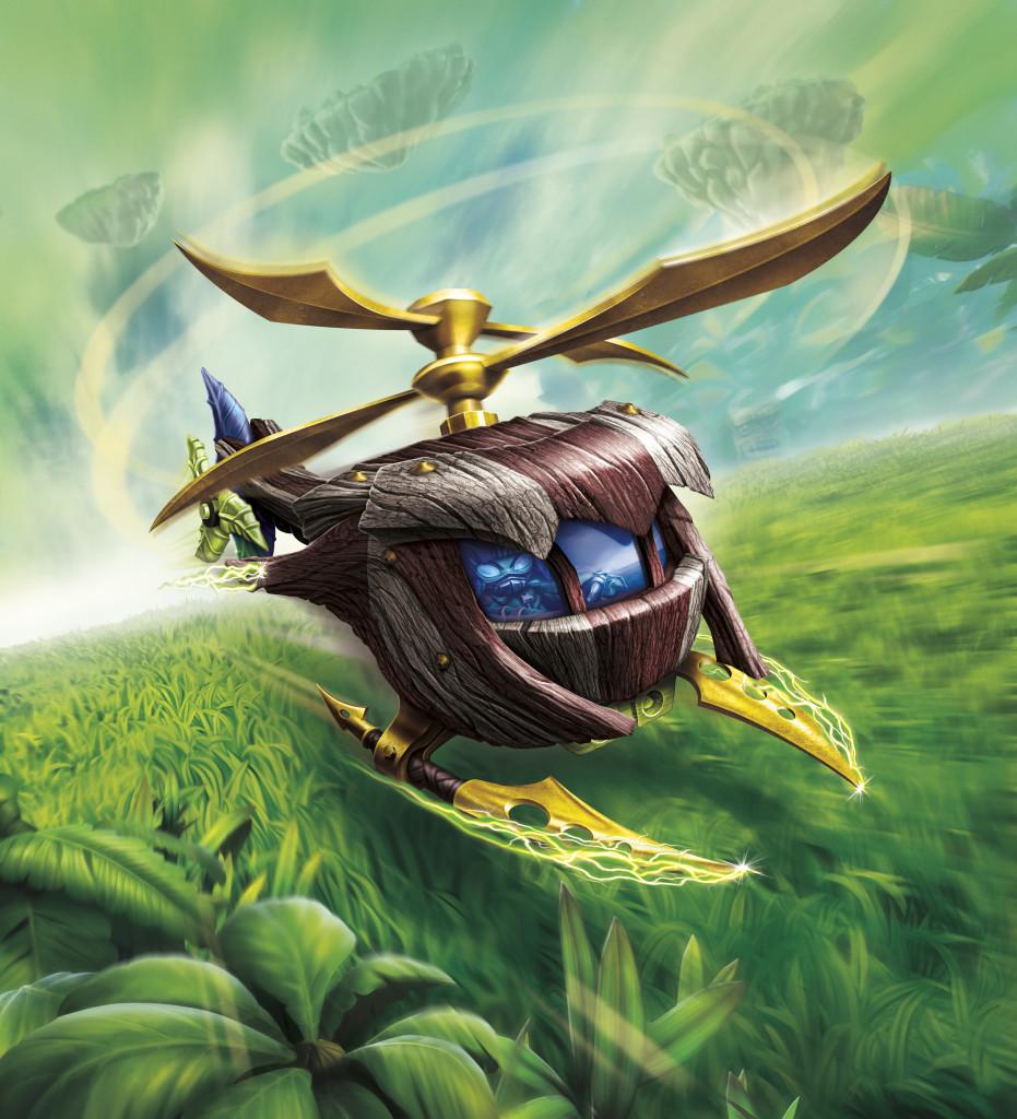 SKYLANDERS Online Multiplayer Ignites SuperChargers & Skylanders SuperChargers Racing for Wii and 3DS Announced