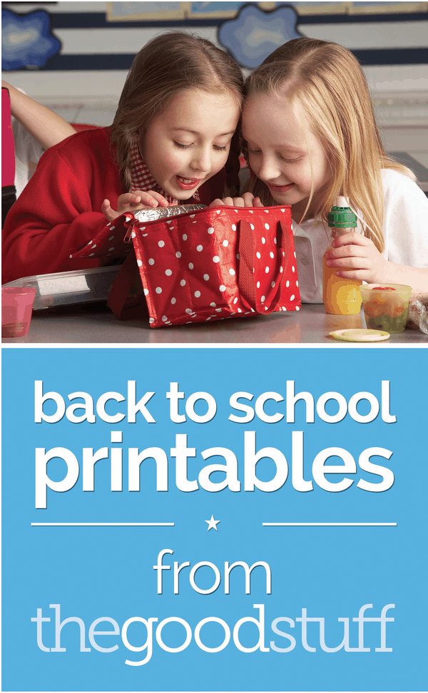 Back to School Lunchbox Printables + $300 Amazon Gift Card #Giveaway ends 9/30