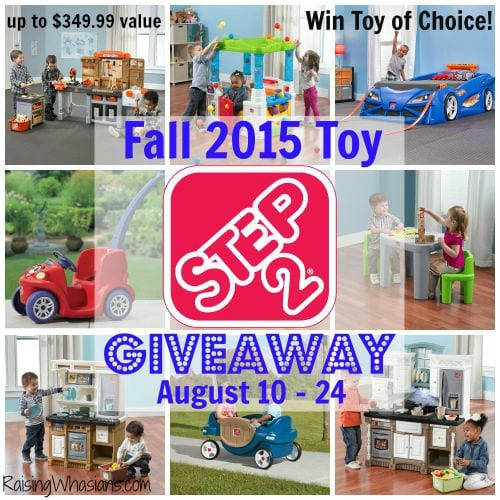 Step2 Toy #Giveaway ends 8/24