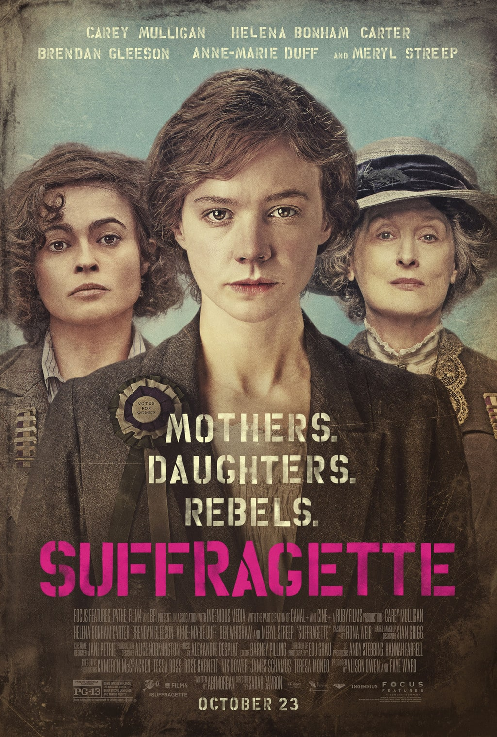 Happy Women's Equality Day and Suffragette Film Trailer #SUFFRAGETTE