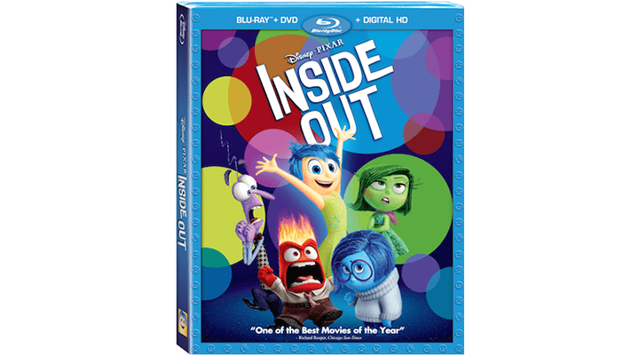 Get Pixar's Inside Out on Digital HD October 3 and Blu-Ray November 3