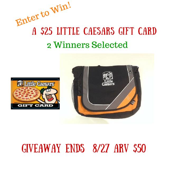 Little Caesars Pizza #Giveaway end 8/27
