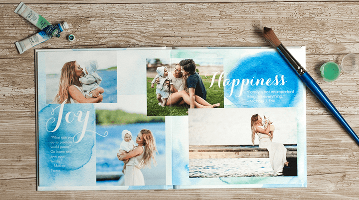Create A Photo Book Using Photos From Your Computer or Social Media Site