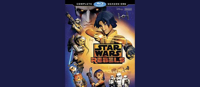 Star Wars Rebels: Complete Season One Is Now On Blu-ray and DVD #StarWarsRebels